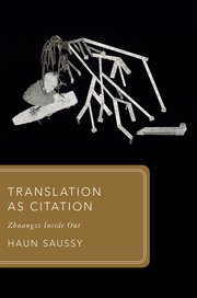 Cover for   Translation as Citation