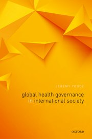 Cover for   Global Health Governance in International Society