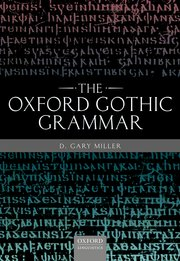 Cover for   The Oxford Gothic Grammar