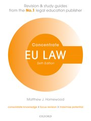 Cover for   EU Law Concentrate