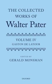 Cover for   The Collected Works of Walter Pater