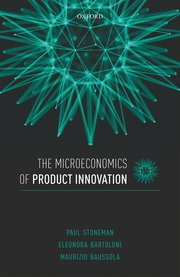 Cover for   The Microeconomics of Product Innovation