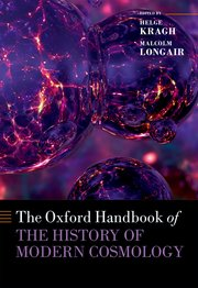 Cover for   The Oxford Handbook of the History of Modern Cosmology