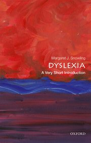 Cover for   Dyslexia: A Very Short Introduction