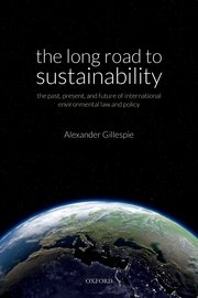 Cover for   The Long Road to Sustainability