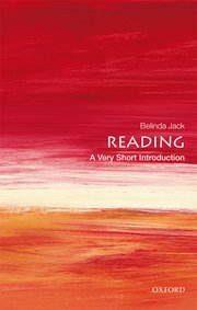 Cover for   Reading: A Very Short Introduction