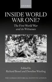 Cover for   Inside World War One?