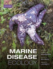 Cover for   Marine Disease Ecology