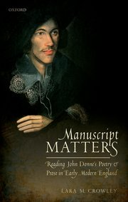 Cover for   Manuscript Matters