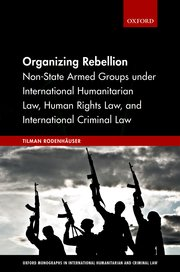 Cover for   Organizing Rebellion