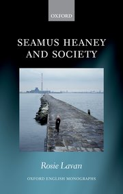 Cover for   Seamus Heaney and Society