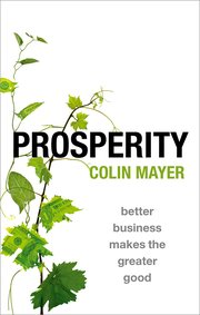 Cover for   Prosperity