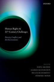 Cover for   Human Rights and 21st Century Challenges