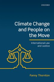 Cover for   Climate Change and People on the Move