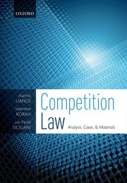 Cover for   Competition Law