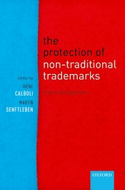 Cover for   The Protection of Non-Traditional Trademarks