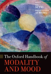 Cover for   The Oxford Handbook of Modality and Mood