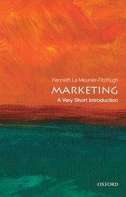 Cover for   Marketing: A Very Short Introduction