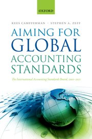 Cover for   Aiming for Global Accounting Standards