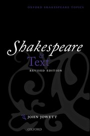 Cover for   Shakespeare and Text