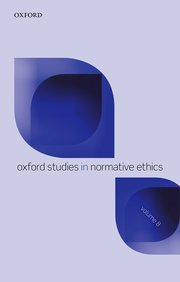 Cover for   Oxford Studies in Normative Ethics Volume 8