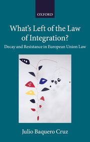 Cover for   Whats Left of the Law of Integration?