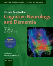 Cover for   Oxford Textbook of Cognitive Neurology and Dementia