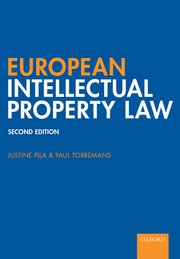 Cover for   European Intellectual Property Law