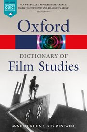 Cover for   A Dictionary of Film Studies