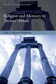 Cover for   Religion and Memory in Tacitus Annals