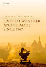 Cover for   Oxford Weather and Climate since 1767