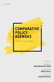 Cover for   Comparative Policy Agendas