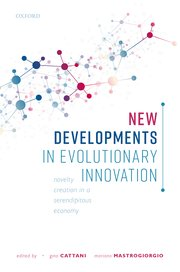 Cover for   New Developments in Evolutionary Innovation