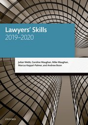 Cover for   Lawyers Skills