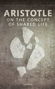 Cover for   Aristotle on the Concept of Shared Life