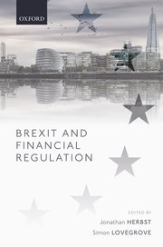 Cover for   Brexit and Financial Regulation