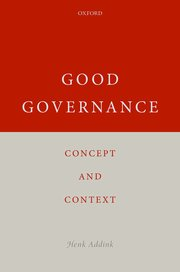 Cover for   Good Governance
