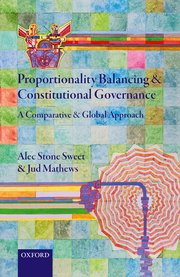 Cover for   Proportionality Balancing and Constitutional Governance