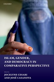 Cover for   Islam, Gender, and Democracy in Comparative Perspective
