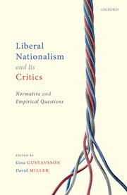 Cover for   Liberal Nationalism and Its Critics
