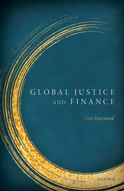 Cover for   Global Justice & Finance
