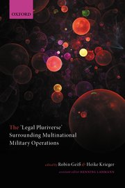 Cover for   The Legal Pluriverse Surrounding Multinational Military Operations