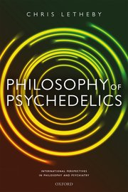 Cover for   Philosophy of Psychedelics