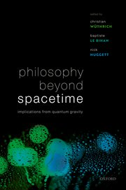 Cover for   Philosophy Beyond Spacetime
