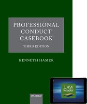 Cover for   Professional Conduct Casebook: Digital Pack