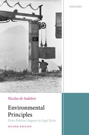 Cover for   Environmental Law Principles
