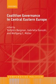 Cover for   Coalition Governance in Central Eastern Europe