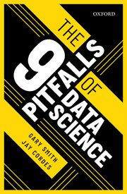 Cover for   The 9 Pitfalls of Data Science