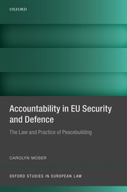 Cover for   Accountability in EU Security and Defence