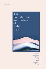 Cover for   The Foundations and Future of Public Law